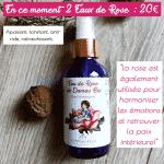 Promo_ 2 Eau de Rose de Damas Bio_ 20€
