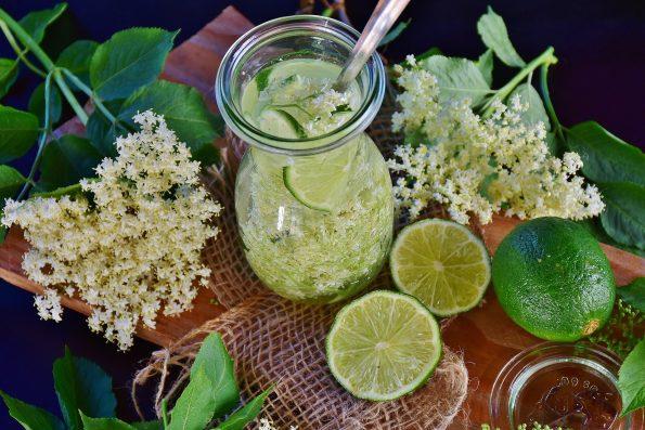 Limonade fleur de sureau